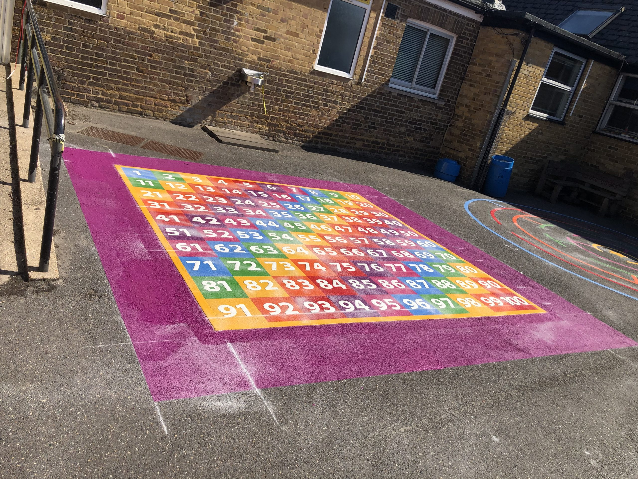Creating an Educational Playground with Maths Playground Markings