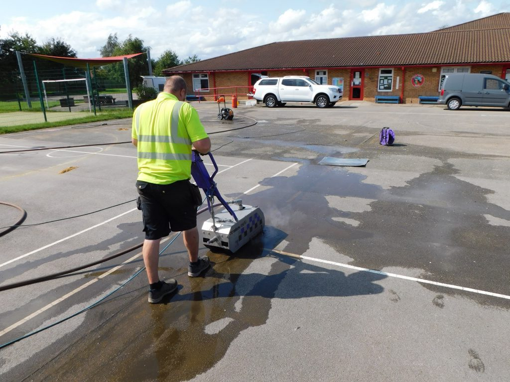 , Removal of Playground Markings