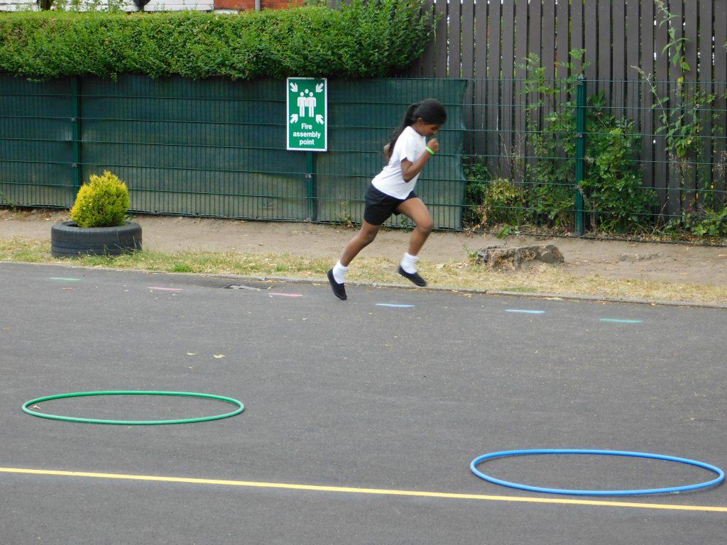 Roe Lee School Playground Markings & Sports Premium
