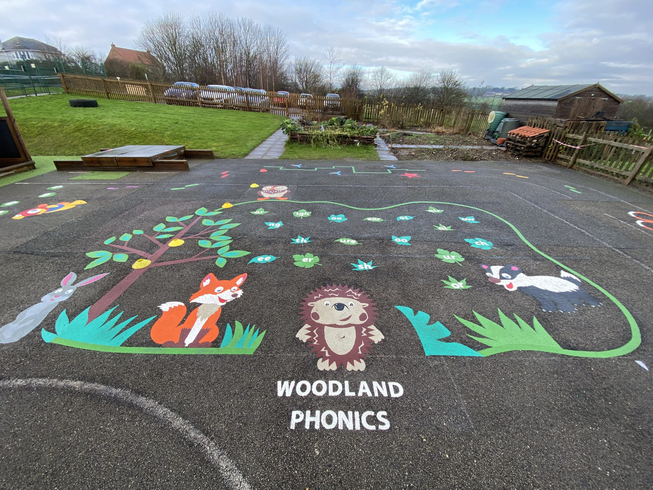 Why choose school playground markings?