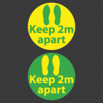 Keep 2m Apart Markers