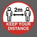 Social 2m Distancing Marking
