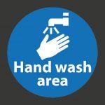 Hand Wash Area Marking